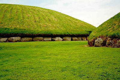 Photograph - Neolithic Mounds by Van Corey