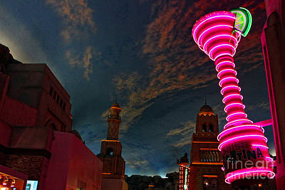 Neon City Art Print by Billie-Jo Miller