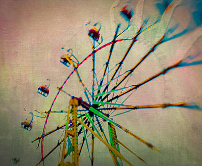 Photograph - Neon Wheel by Joye Ardyn Durham