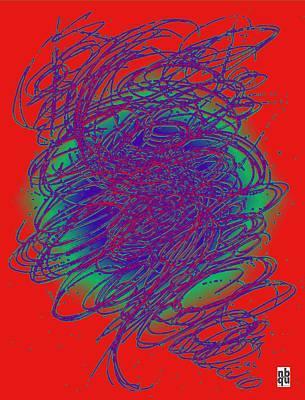 Neon Poster. Art Print