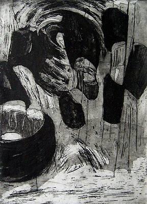 neptune II Art Print by Nesli Sisli