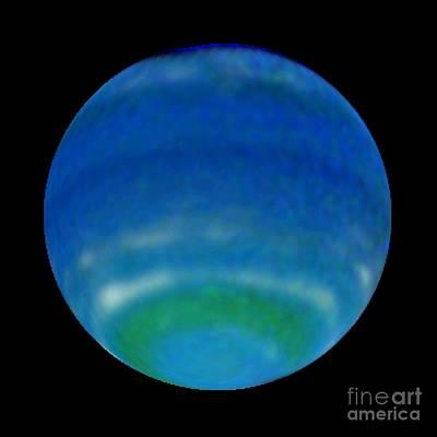 Neptune In 1998, Hst Image Art Print by Space Telescope Science Institute / NASA