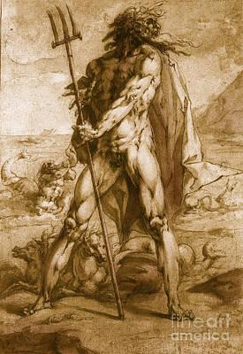 Neptune, Roman God Art Print by Photo Researchers