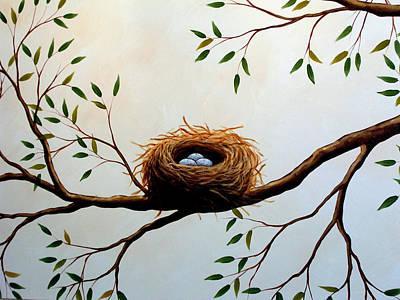 Nesting Art Print by Amy Giacomelli