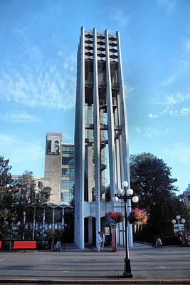 Streetlight Photograph - Netherlands Centennial Carillon by Kristin Elmquist