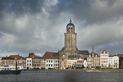 Y120831 Photograph - Netherlands, Deventer, City Skyline by Frans Lemmens