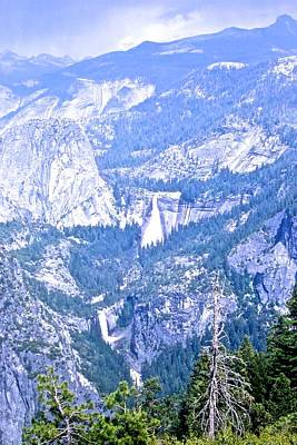 Photograph - Nevada And Vernal Falls by Eric Tressler