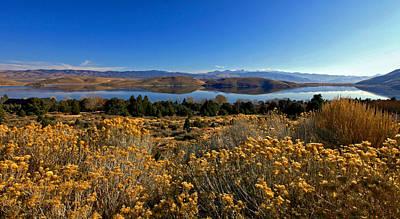 Nevada Lake At Dawn Art Print