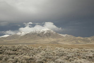 Nevada  Mountain Art Print
