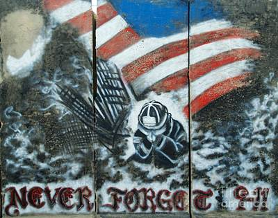 Never Forget 9-11 Art Print by Unknown