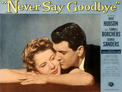 Fid Photograph - Never Say Goodbye, Cornell Borchers by Everett