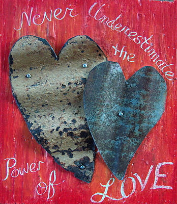 Mixed Media - Never Undestimate  by Racquel Morgan