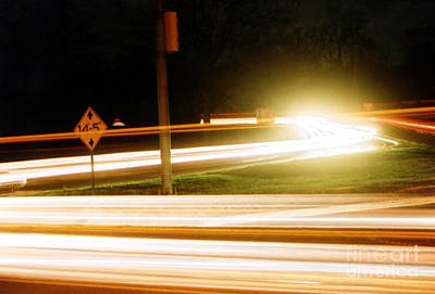 Photograph - Neverending Traffic by Susan Stevenson