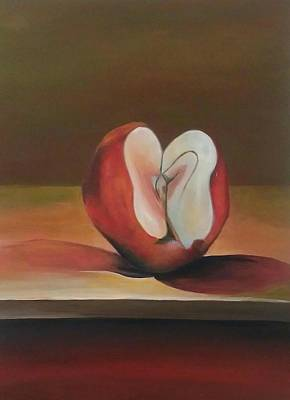 Painting - New Apple by Robert Foss