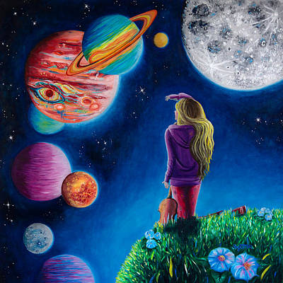 New Beginning At The Ends Of The Earth Art Print by Michaela Sagatova