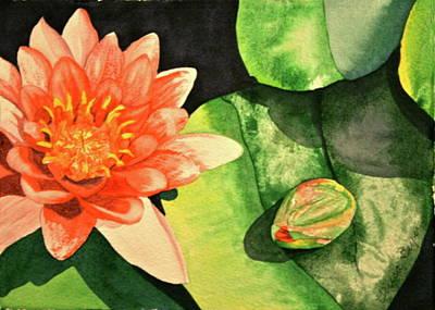 Art Print featuring the painting New Beginnings by Teresa Beyer