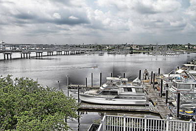New Bern Harbor Art Print