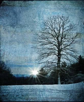 Photograph - New Blue Sunrise by Christine Annas