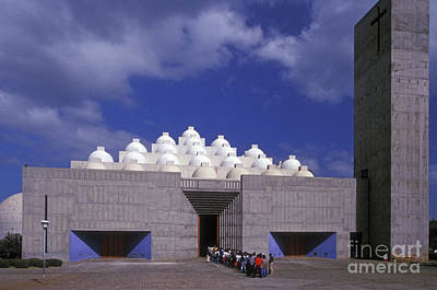 Photograph - New Cathedral Managua Nicaragua by John  Mitchell