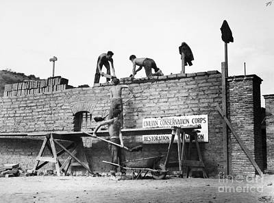 Photograph - New Deal: C.c.c., 1938 by Granger