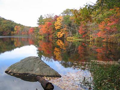 New England Autumn Art Print by Jf Halbrooks