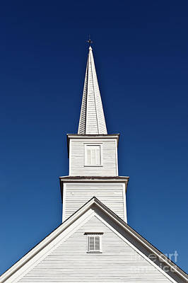 Andover Photograph - New England Church by John Greim