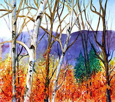Painting - New England Fall by Priti Lathia