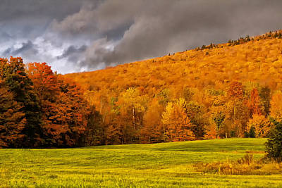 Photograph - New Hampshire Fall Color by Bill Barber