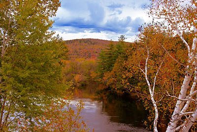 Photograph - New Hampshire Fall Color Part Three by Bill Barber