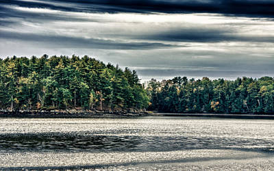 Photograph - New Hampshire Waterway 3 by Edward Myers