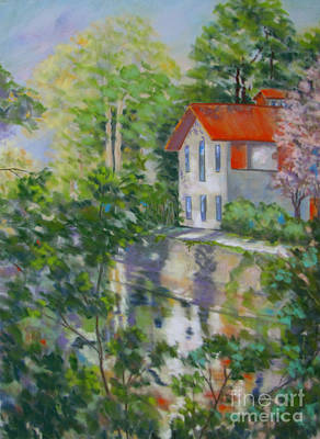 Painting - New Hope Pa by Vicki Brevell