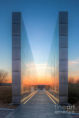 Photograph - New Jersey Empty Sky Memorial I by Clarence Holmes