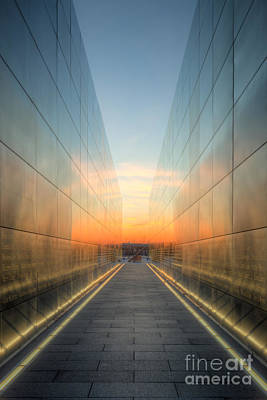 Photograph - New Jersey Empty Sky Memorial II by Clarence Holmes