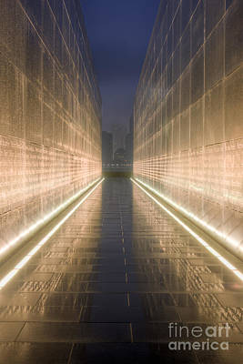 Photograph - New Jersey Empty Sky Memorial Vii by Clarence Holmes