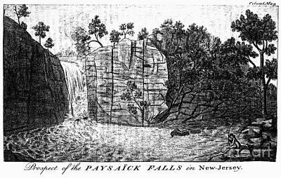 Photograph - New Jersey: Passaic Falls by Granger