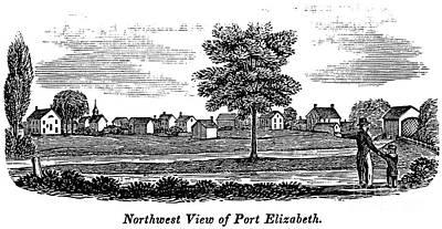 New Jersey: Port Elizabeth Art Print by Granger