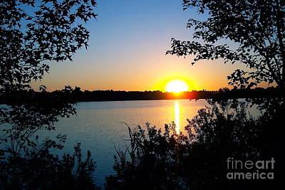 Photograph - New Jersey Sunset  by Nancy Patterson