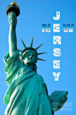 New Jersey Art Print by Syed Aqueel