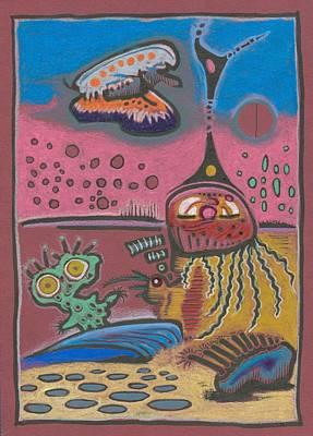 New Martain Vision Art Print