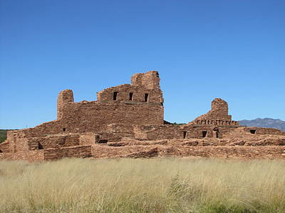 Photograph - New Mexico Ancient Mission And Pueblo by Lisa Dunn
