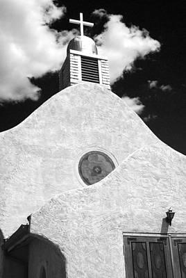 Religious Art Photograph - New Mexico Church by Sonja Quintero