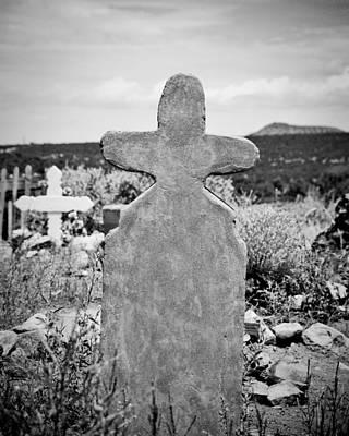 New Mexico Cross Art Print by Sonja Quintero