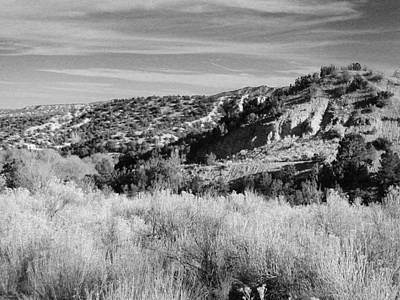 Photograph - New Mexico Series - A View Of The Land by Kathleen Grace