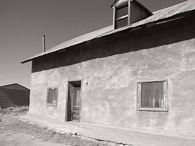 Photograph - New Mexico Series - Adobe House In Truchas by Kathleen Grace