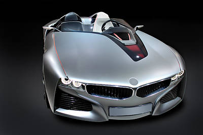 Photograph - new model BMW by Radoslav Nedelchev