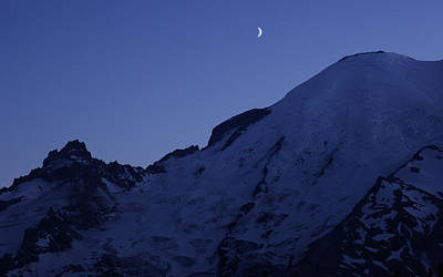 Photograph - New Moon Blues by Jen Baptist