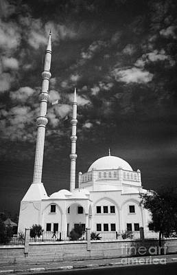 New Mosque Yeni Cami Famagusta Turkish Republic Of Northern Cyprus Trnc Art Print by Joe Fox