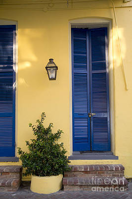 Leda Photograph - New Orleans Doors by Leslie Leda