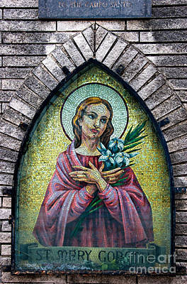 Photograph - New Orleans Mosaic Shrine by Kathleen K Parker