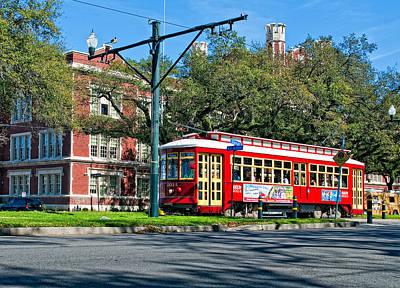 New Orleans Streetcar 2 Art Print by Steve Harrington